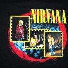 Nirvana Red Circle Tee Size X-Large