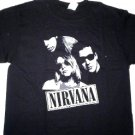 Nirvana Band Tee Size Large