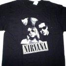Nirvana Band Tee Size Large