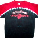 Rolling Stones Tye Dye Tribal Tongue Tee Size Medium