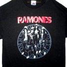 Ramones Red Logo Band Tee Size Medium