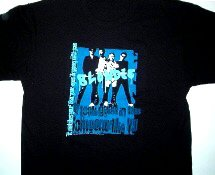 Blondie Good In Blue Tee Size Large