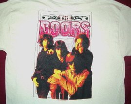 Doors Illusion Khaki Tee Size X-Large