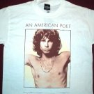 Doors Morrison Poet White Tee Size Medium