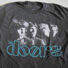 Doors Classic Band Distress Logo Tee Size Medium