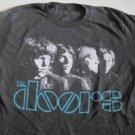 Doors Classic Band Distress Logo Tee Size Large
