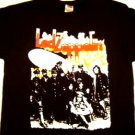 Led Zeppelin 2 Black Tee Size Medium