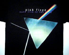 Pink Floyd Prism Time Tee Size Medium