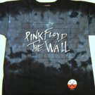Pink Floyd T-Dye Bricks Wall Tee Size Large