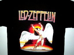 Led Zeppelin New Swan Song 2 Tee Size Medium