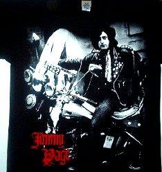 Jimmy Page Yardbird Era Tee Size Medium