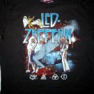 Led Zeppelin Stellar Montage Vintage Tee Size X-Large