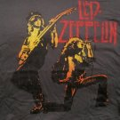 Zep Page Plant Duo Gunmetal T-shirt Size Large