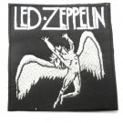 Led Zeppelin Swan Song Black and White Patch