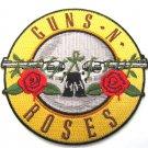 Guns n Roses Round Logo Patch