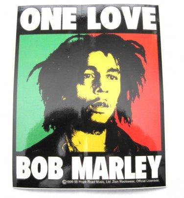 Bob Marley One Love Sticker