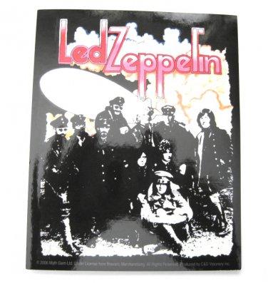 Led Zeppelin 2 Album Cover Sticker