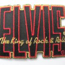 Elvis King of Rock n Roll Patch