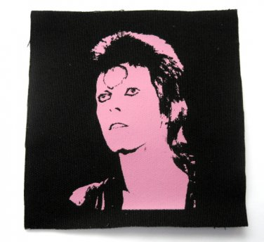 David Bowie Canvas Patch