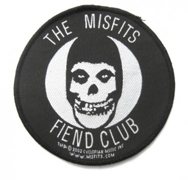 Misfits Fiend Round Patch