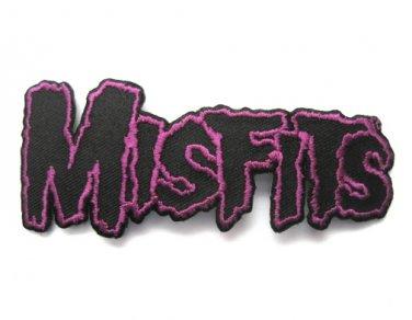 Misfits Purple Logo Patch