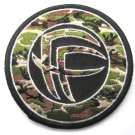 Foo Fighters Camo Round Patch