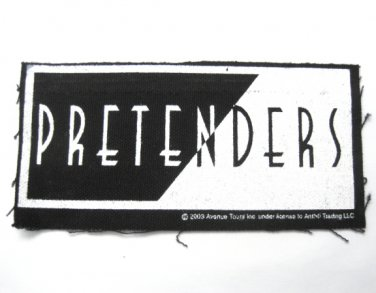 Pretenders Canvas Patch