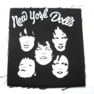 New York dolls Canvas Patch