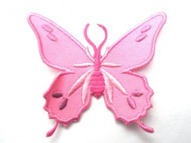 Pink Butterfly Patch