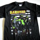 Ramones Stripe Punk Tee Size Small