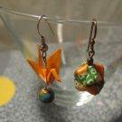 Origami Crane Earring #5