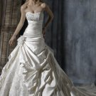 strapless swarovski crystals wedding dress 2011 EC4