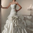 strapless rhinestone swarovski crystals wedding dress 2011 EC9