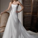 organza  fashion designer wedding dresses 2011 EC17