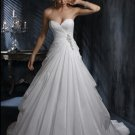 taffeta rhinestone wedding dress 2011 EC32