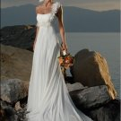 one shoulder beach wedding dress 2011 EC34