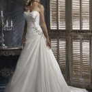 taffeta rhinestone wedding dress 2011 EC35