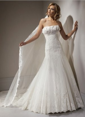 lace bridal wedding dress 2011 EC45