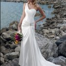 satin fashion wedding dress 2011 EC56