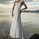 fashion beach wedding gown 2011 EC58