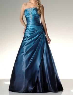 fashion blue Prom dresses 2011 EP18