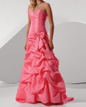 fashion pink Prom dresses 2011 EP20