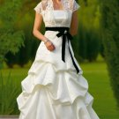 fashion satin wedding dress 2011 EC68