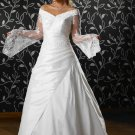new collection long sleeve long wedding dress 2011 EC119