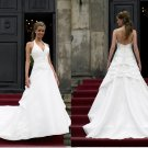 latest style swarovski hater wedding dress 2011 EC139