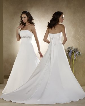 latest style rhinestone wedding dress 2011 EC140