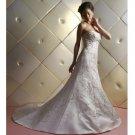 latest style embroidery beaded mermaid wedding dress 2011 EC147