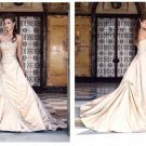 latest style embroidery beaded mermaid wedding dress 2011 EC148