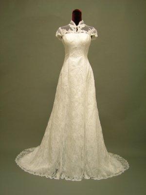 Free shipping lace jacket wedding dress 2011 ER4