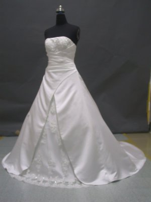 Free shipping fashion designer wedding dress ER49